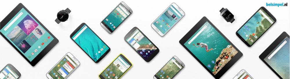 Gerucht: Google gaat een eigen smartphone maken