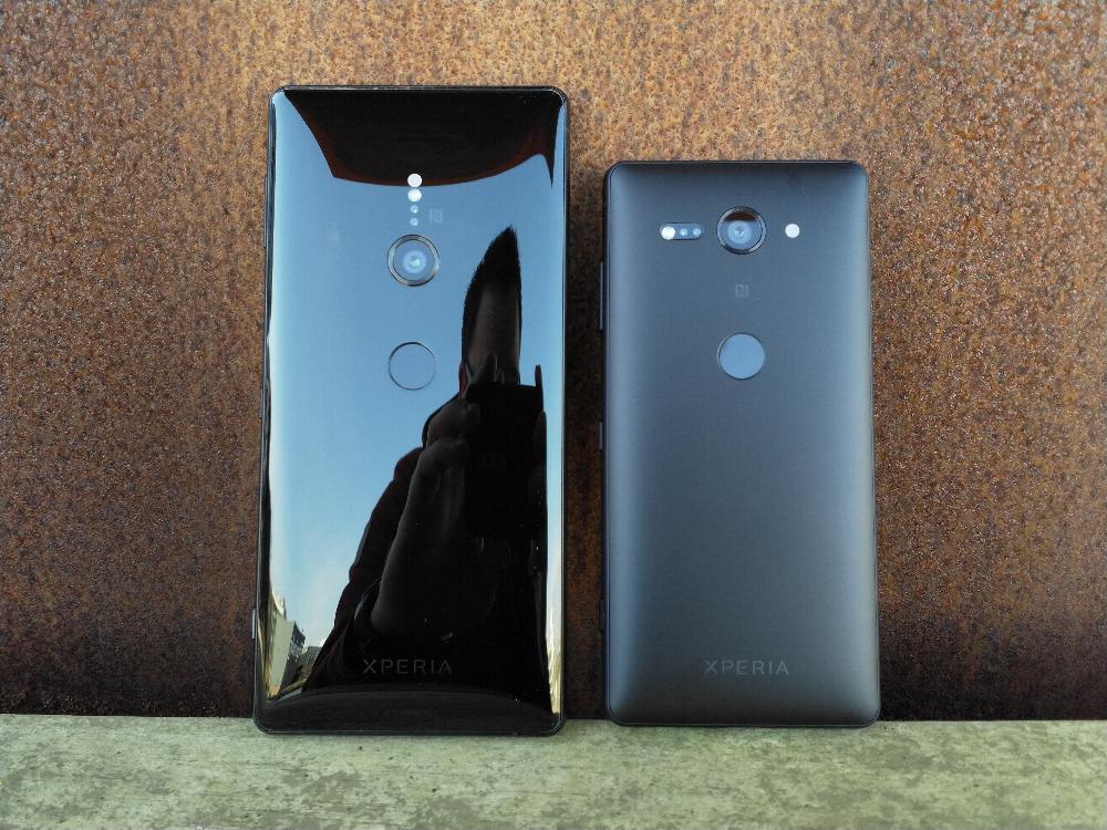 Sony Xperia XZ2 en Sony Xperia XZ2 Compact
