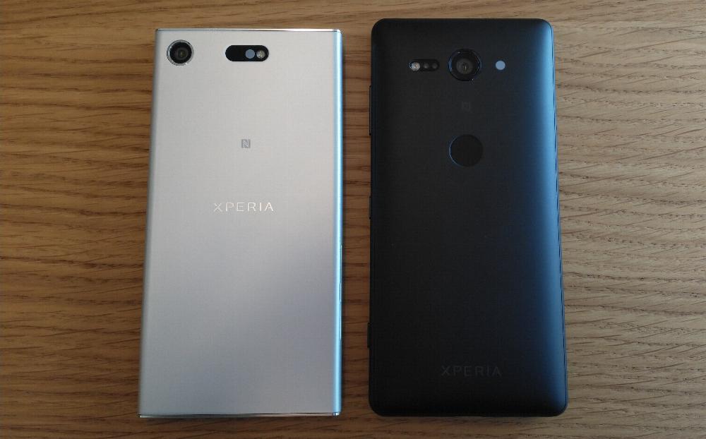Sony Xperia XZ1 Compact en Sony Xperia XZ2 Compact