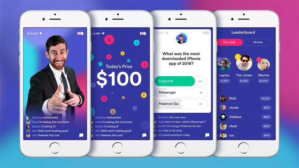 Geld verdienen met HQ Trivia-game nu ook beschikbaar voor Android