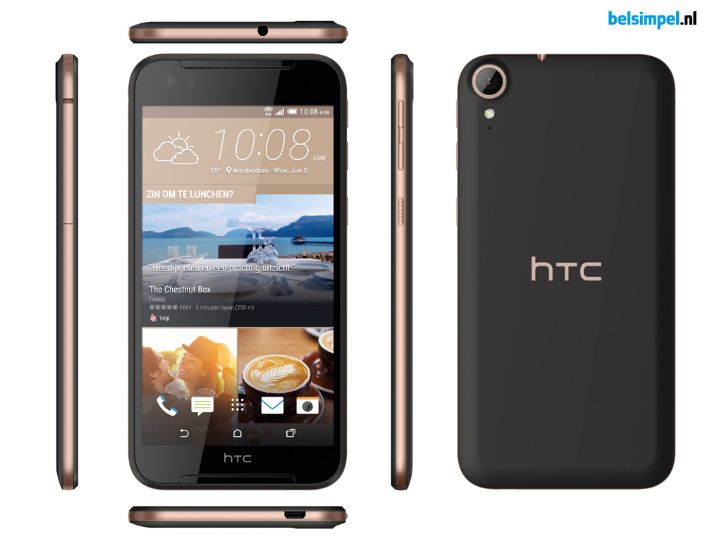 Nieuwe HTC Desire 830 aangekondigd
