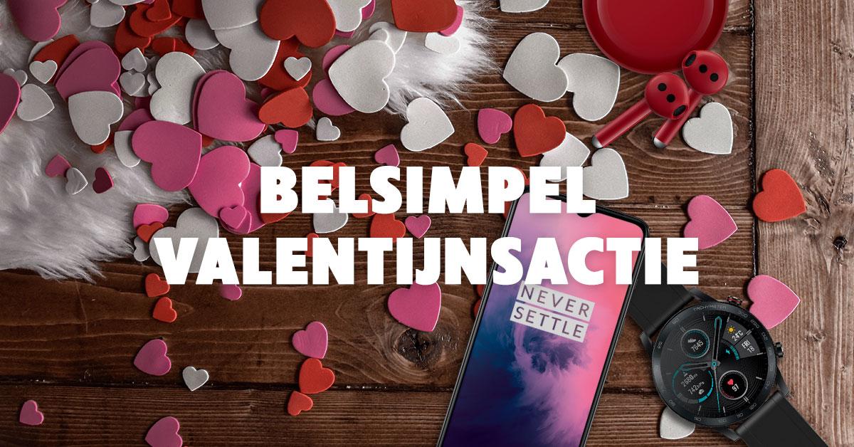 Valentijnsacties bij Belsimpel