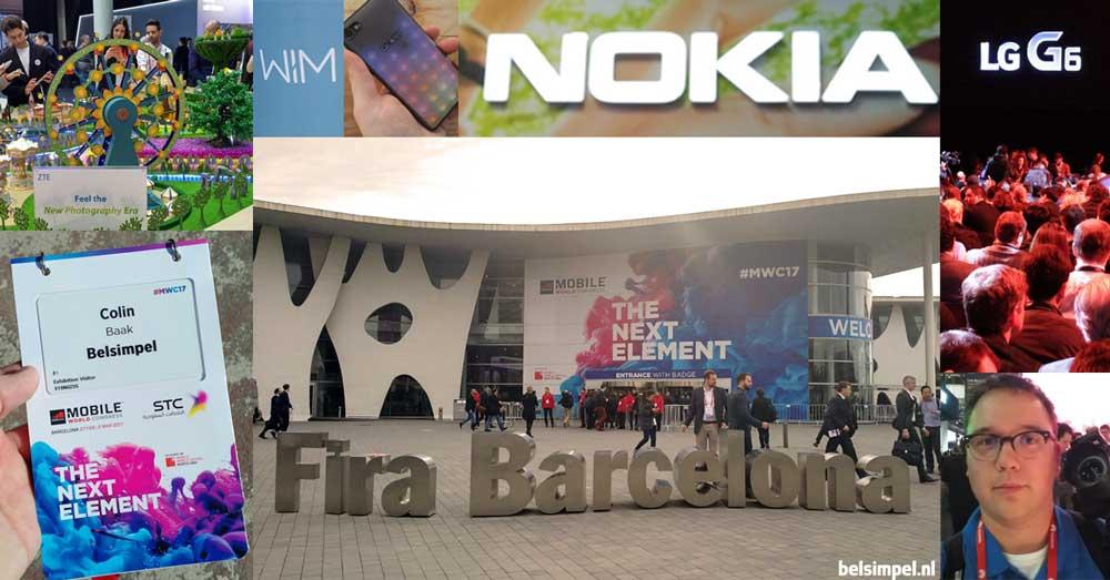Belsimpel.nl op het Mobile World Congress 2017: recap en ervaringen