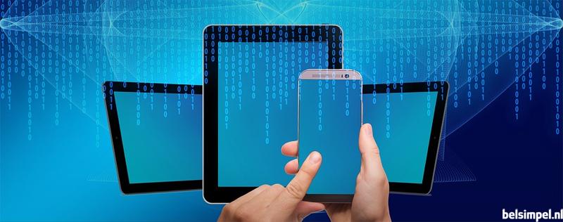 Nederlanders grootverbruikers van mobiele data