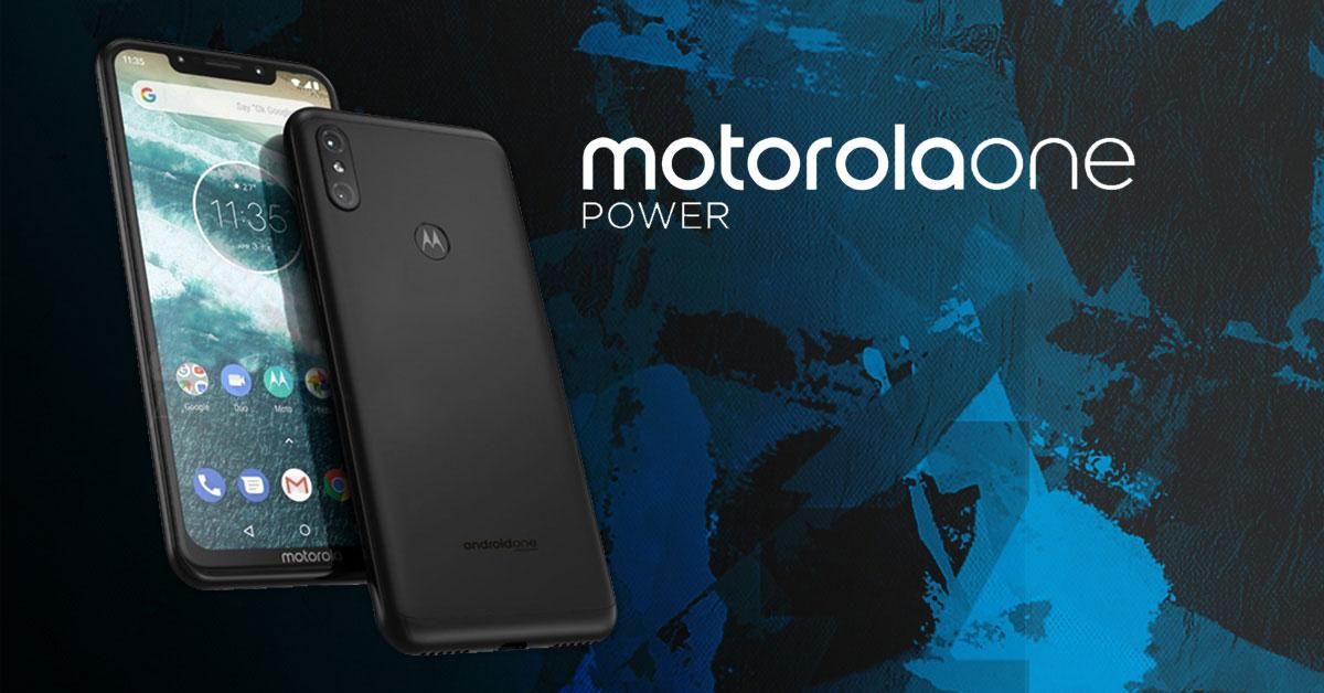 Is dit de Motorola One Power?