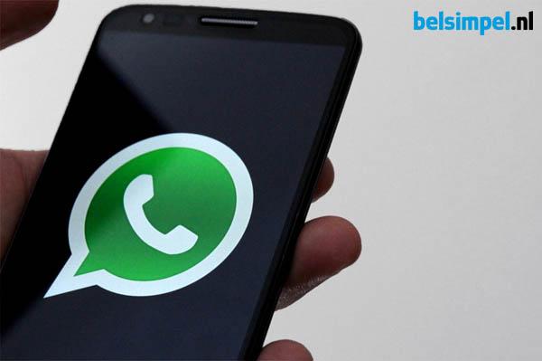 Bellen met WhatsApp