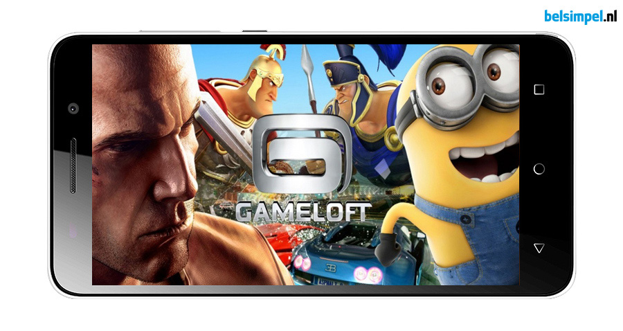 Actie: Gratis €50, - aan Gameloft-credits bij aankoop van de Honor 4X!