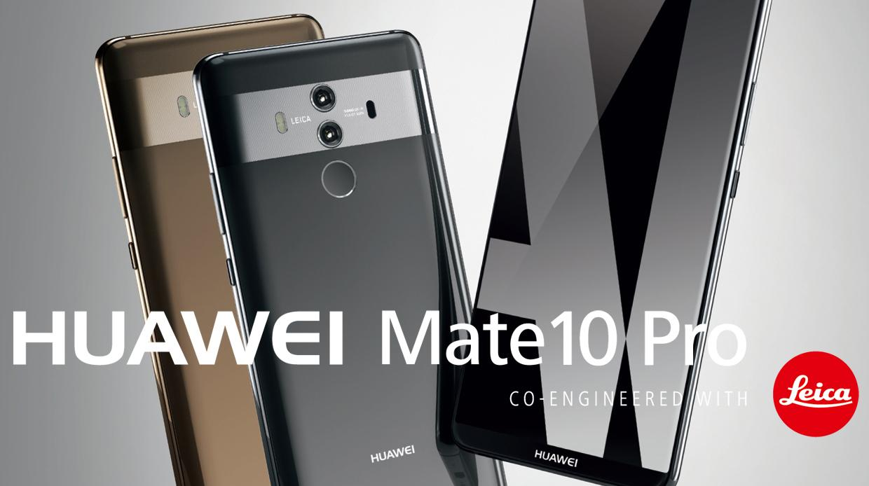 Huawei Mate 10 Pro officieel: high-end smartphone zet in op Artificial Intelligence