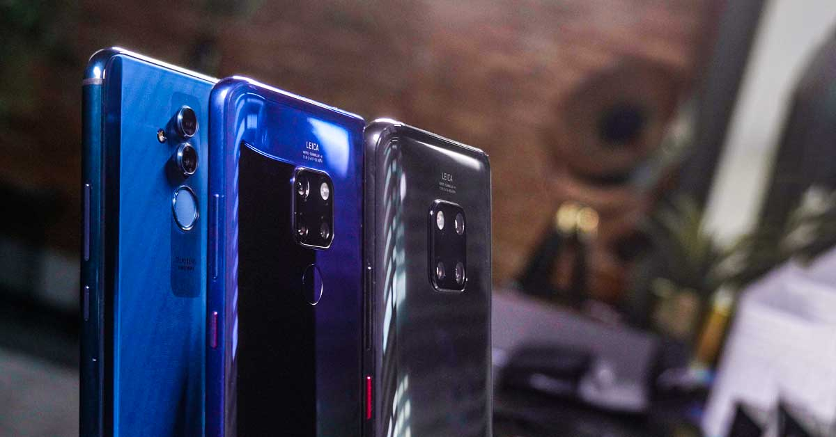 Huawei Mate 20 Lite, Mate 20 en Mate 20 Pro