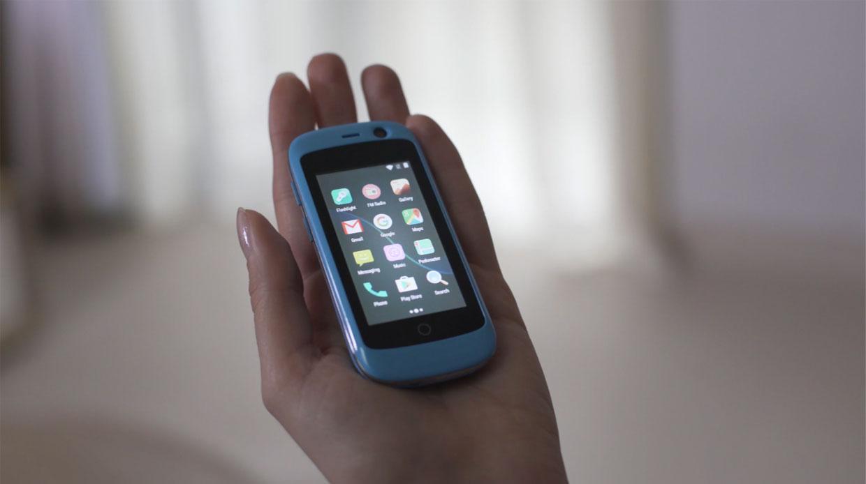 Jelly: de ieniemienie smartphone die draait op Android 7