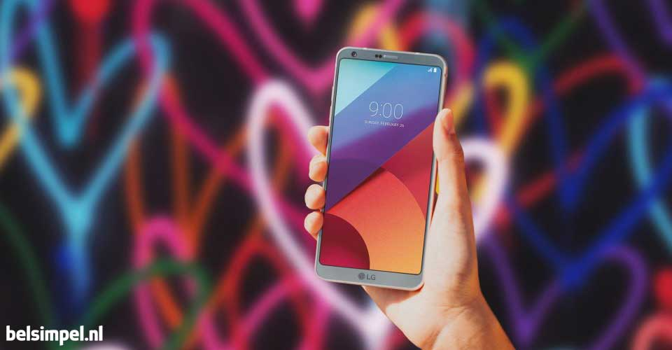 LG presenteert nieuwe G6 tijdens MWC 2017