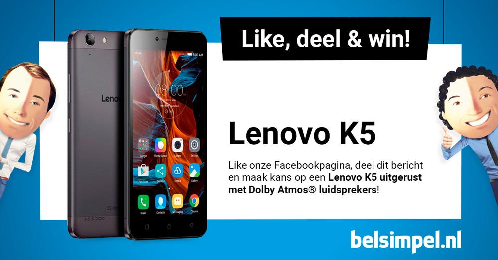 De Lenovo K5, een betaalbaar toptoestel