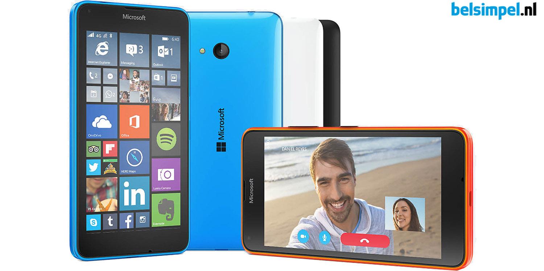Nu bij Belsimpel.nl: de Microsoft Lumia 640 4G voor slechts €10,- per maand!