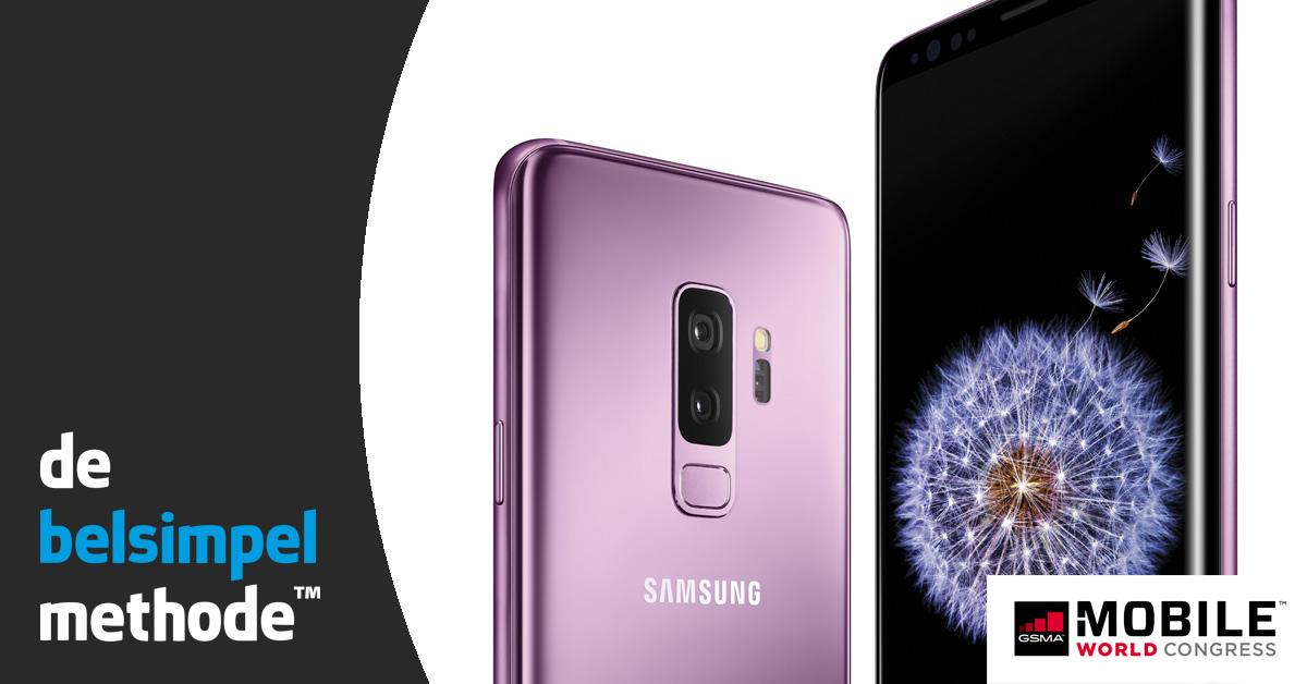 Samsung Galaxy S9 en S9+ officieel: het zit hem in de details