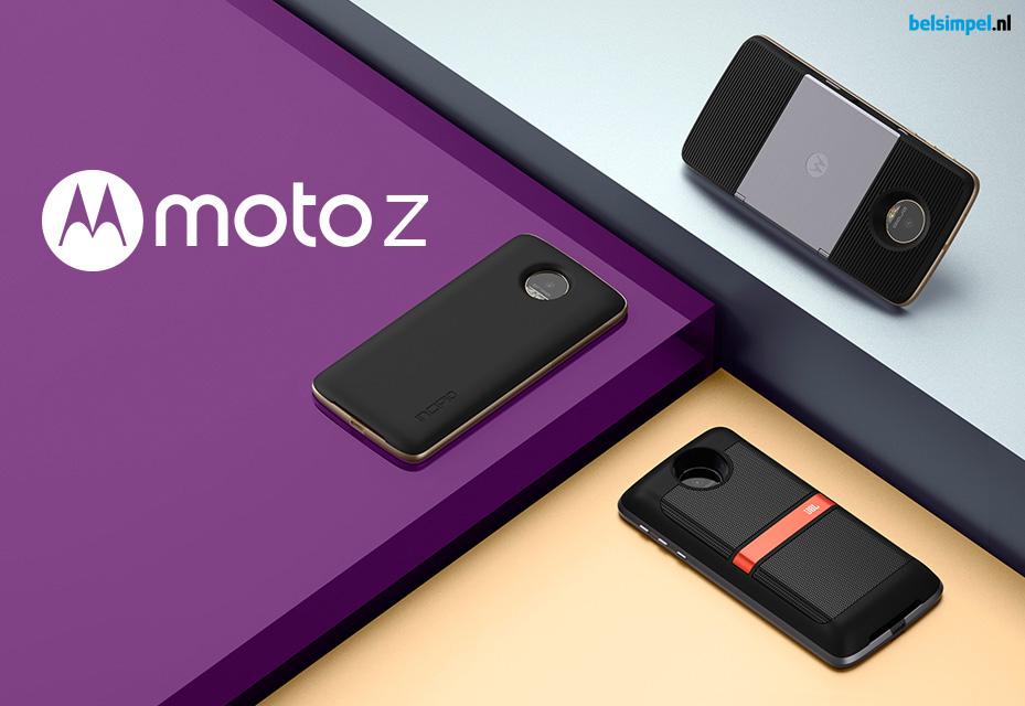 Motorola Moto Z en Moto Z Force zijn aangekondigd!