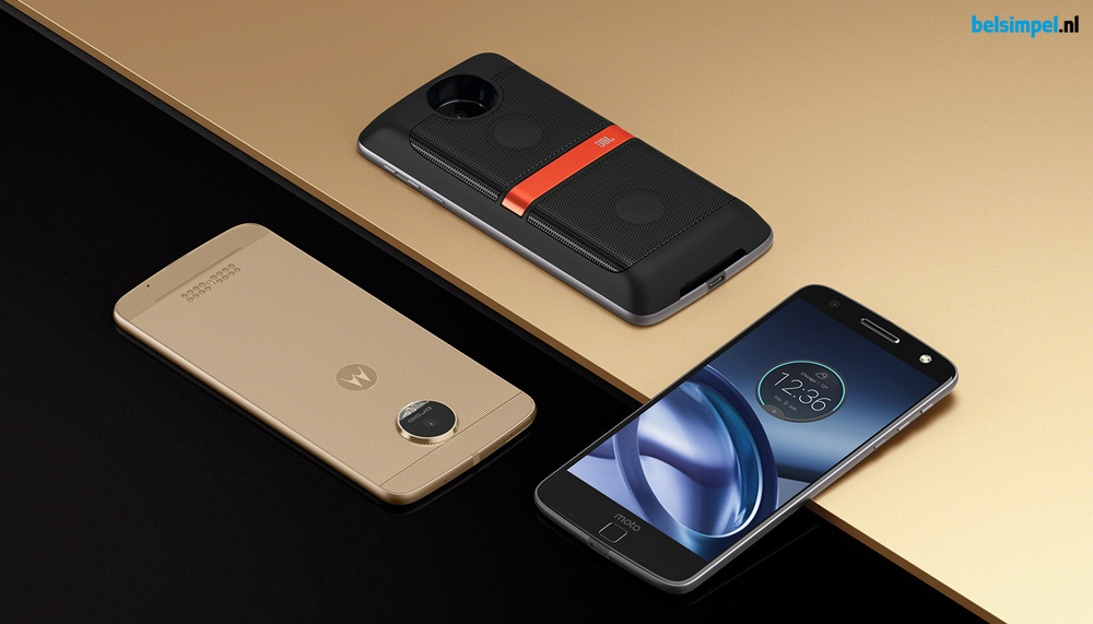 Motorola Moto Z Play mét 3.5mm-aansluiting?