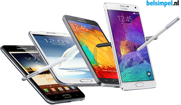 Gerucht: Samsung Galaxy Note 5 in september aangekondigd