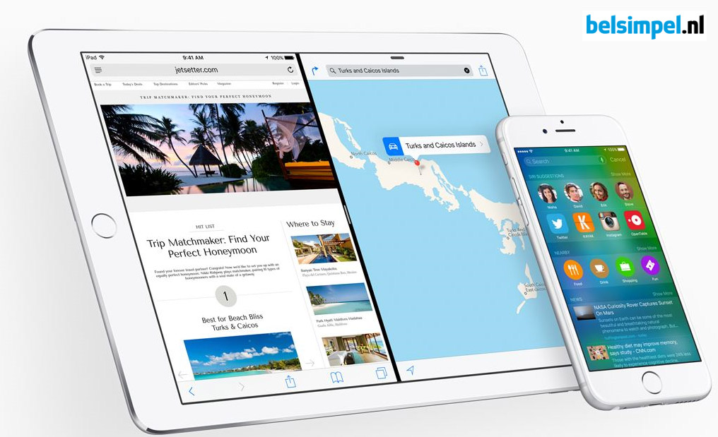 Apple presenteert iOS 9
