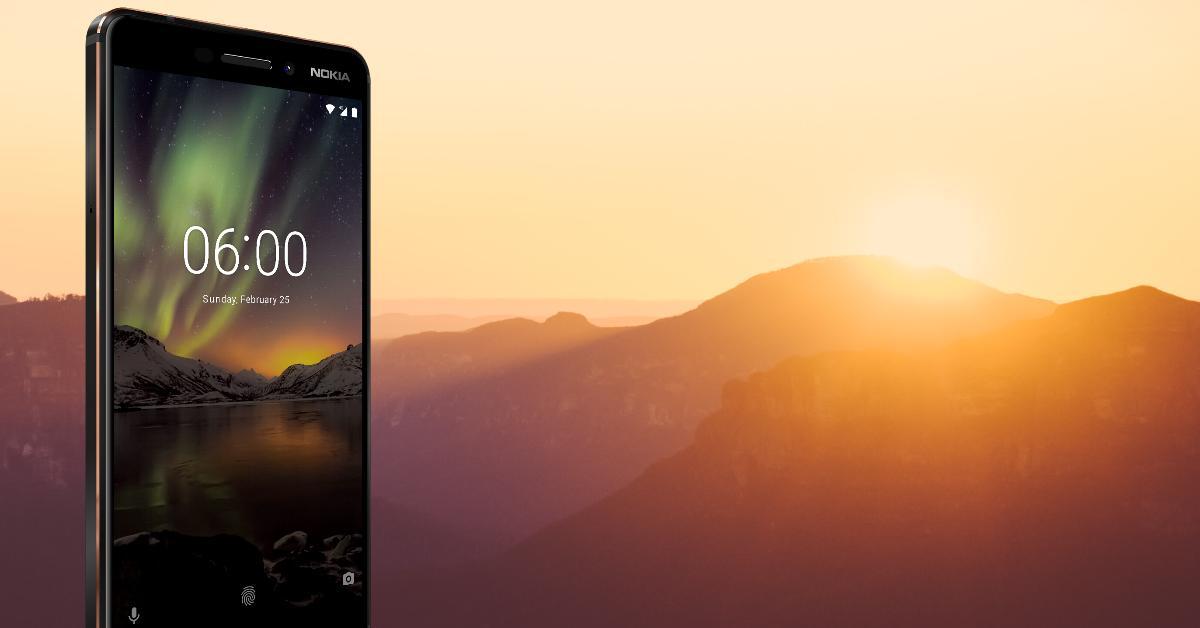 Nokia 6 2018 uit voorraad leverbaar bij Belsimpel