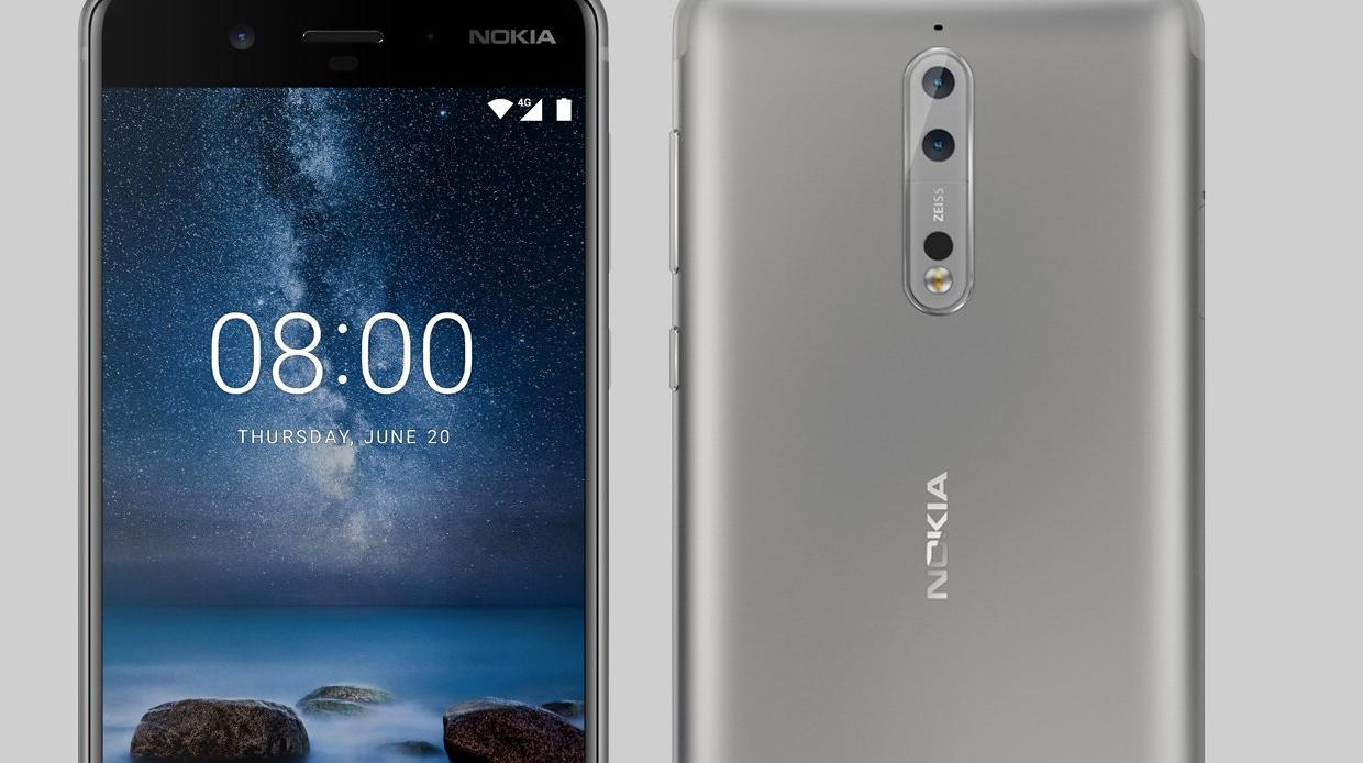 Nokia presenteert high-end Nokia 8 met dubbele camera