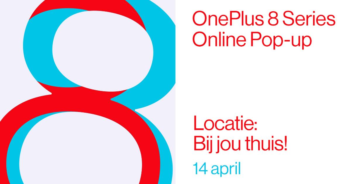 OnePlus 8-serie verkrijgbaar via online pop-up bij Belsimpel