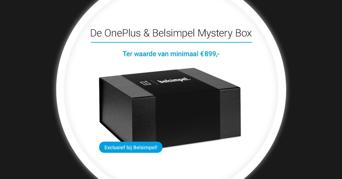 Exclusief bij Belsimpel: de OnePlus & Belsimpel Mystery Box!