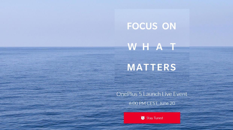 De OnePlus 5 wordt 20 juni gepresenteerd!