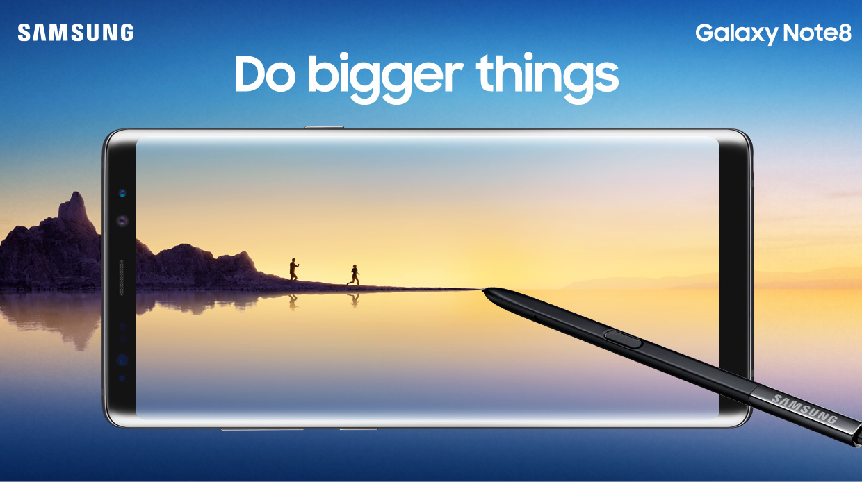 Samsung Galaxy Note 8 officieel: high-end, dubbele camera en S-Pen