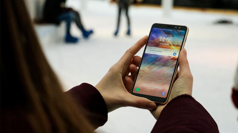 Samsung Galaxy A8 (2018) officieel: langwerpig Infinity-display en dubbele frontcam