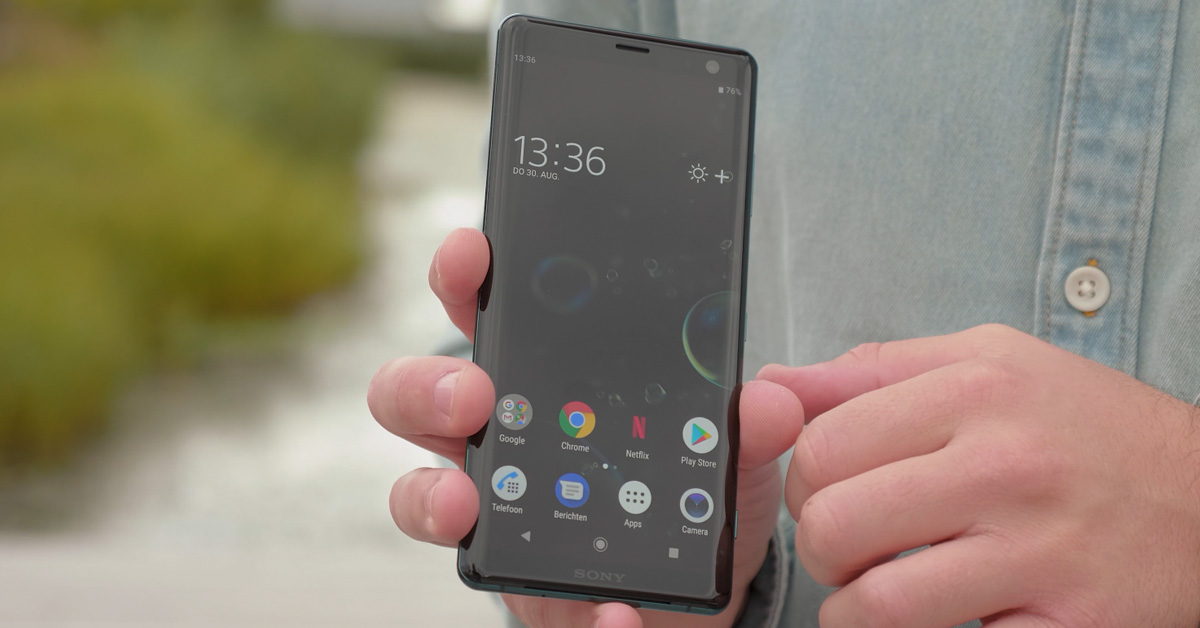IFA 2018 | Sony Xperia XZ3 officieel: rank, slank en met OLED-display