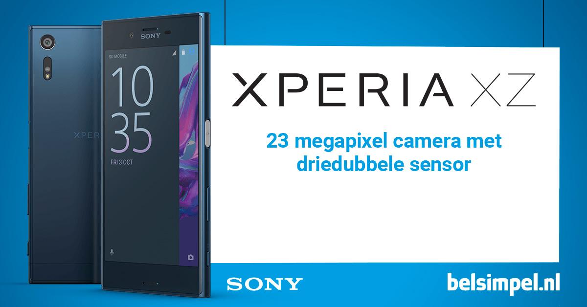 Aankondiging Sony Xperia XZ en Sony Xperia X Compact: de belangrijkste features op een rijtje!