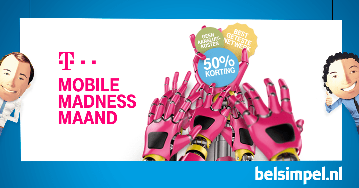 Madness bij T-Mobile!
