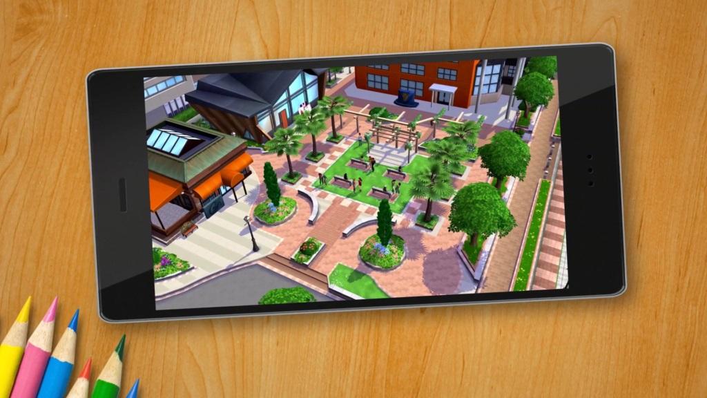 Een nieuwe Sims voor Android en iPhone!