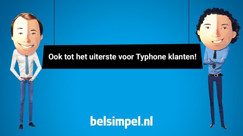 Belsimpel.nl neemt onderdelen Typhone.nl over