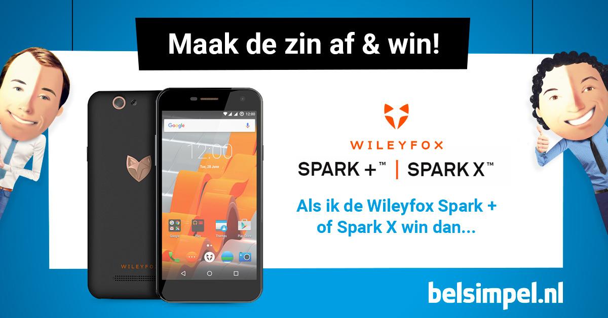Wat zou jij doen met een Wileyfox Spark + of Spark X?