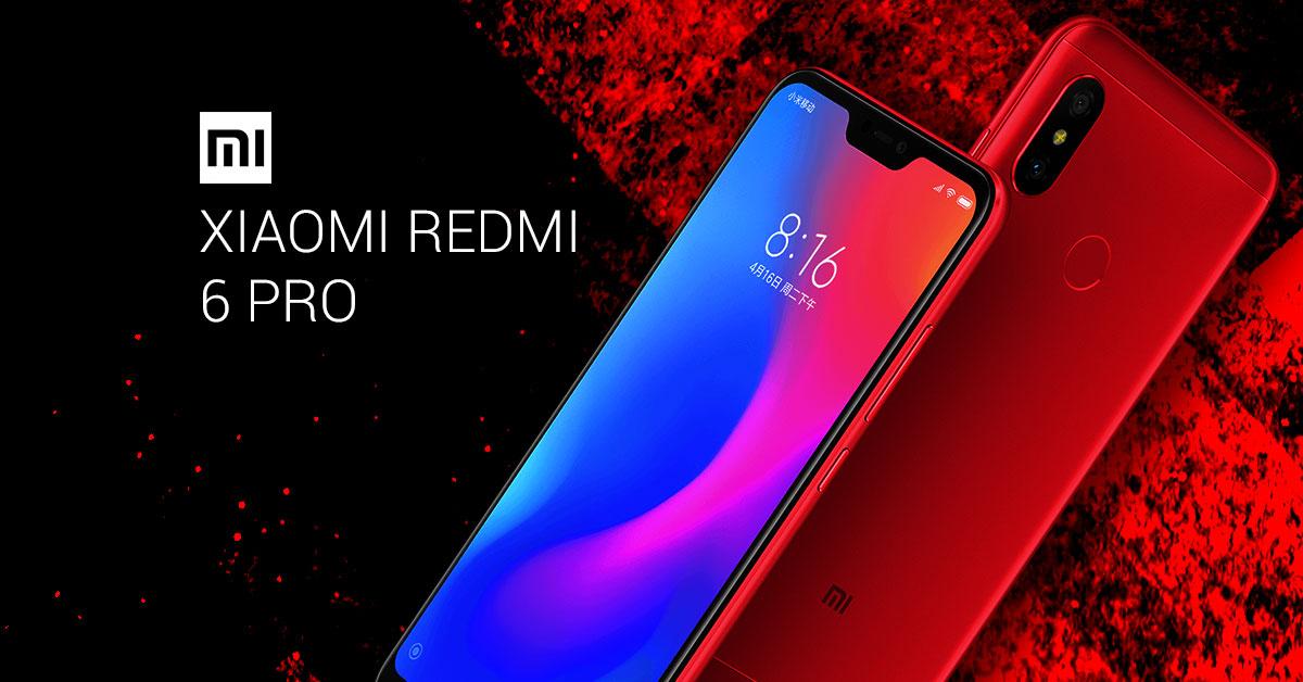 Xiaomi presenteert Xiaomi Redmi 6 Pro