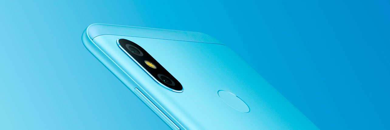 Xiaomi Redmi 6 Pro, Redmi 6 Pro, Xiaomi Redmi 6 Pro blue, Xiaomi Redmi 6 pro camera, dual camera