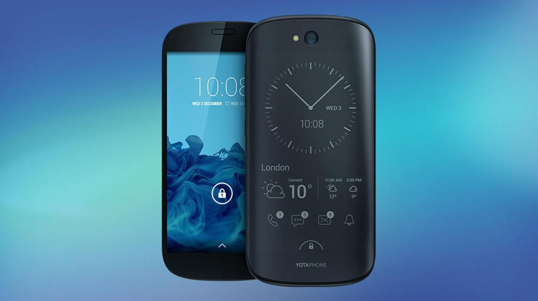 YotaPhone 3 komt eraan: smartphone met twee schermen