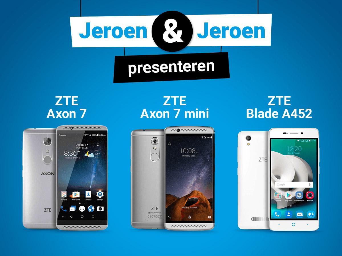 Vanaf nu te bestellen bij Belsimpel.nl: ZTE toestellen!