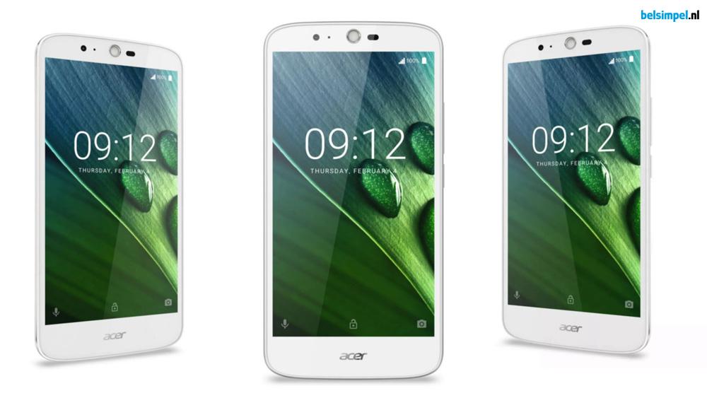 Acer kondigt budgetsmartphone met gigantische accu aan