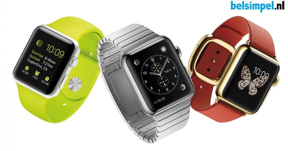 Apple Watch officieel aangekondigd