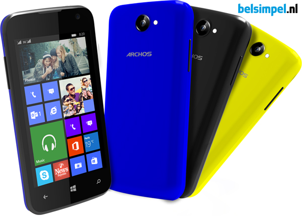 Archos 40 Cesium: een budgettelefoon met Windows Phone!