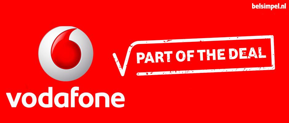 Nieuwe abonnementen bij Vodafone