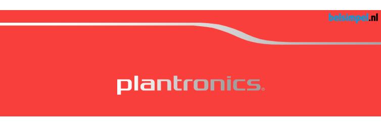 Nieuw bij Belsimpel.nl: Plantronics