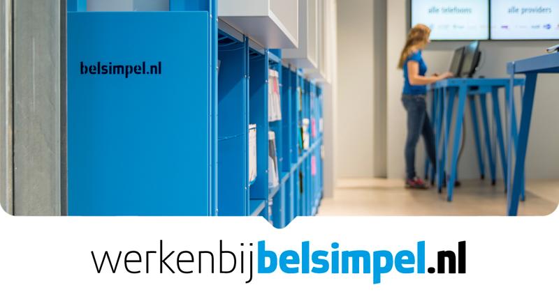 Belsimpel.nl is op zoek naar winkelmedewerkers in Tilburg, Amsterdam en Den Haag