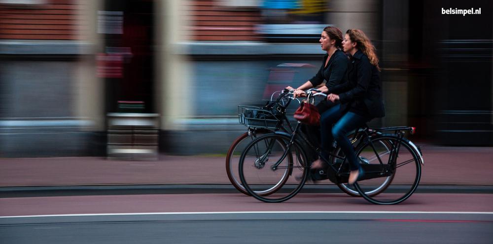 Smartphoneverbod op de fiets?