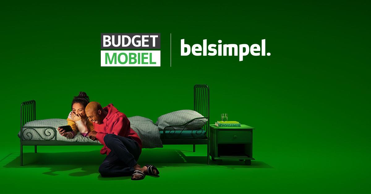 Budget Mobiel nu ook verkrijgbaar bij Belsimpel!
