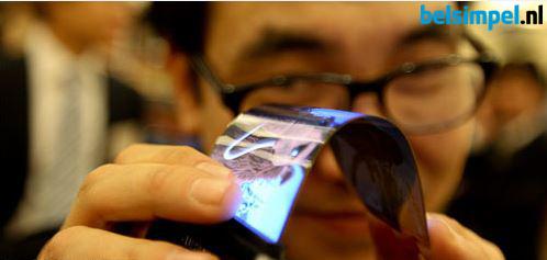 Verwachting in 2016: flexibele smartphones en buigbare schermen