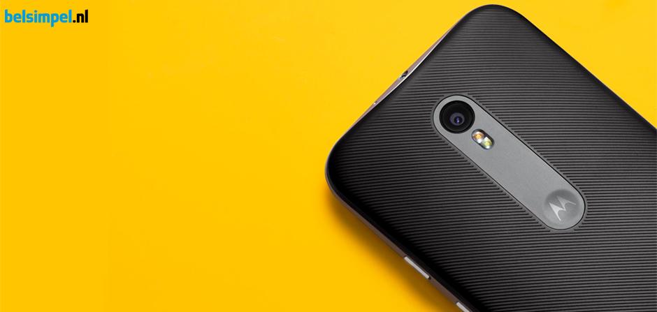 Cashback bij Motorola Moto G (3rd Gen)!