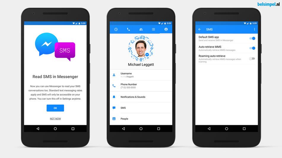 Facebook Messenger: de sms-app waar je wel of niet op zit te wachten